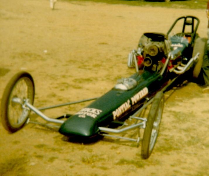 Canton Ellijay Calhoun Chevy: Gary Moser's Pontiac Powered Dragster At Dragway 42 1965