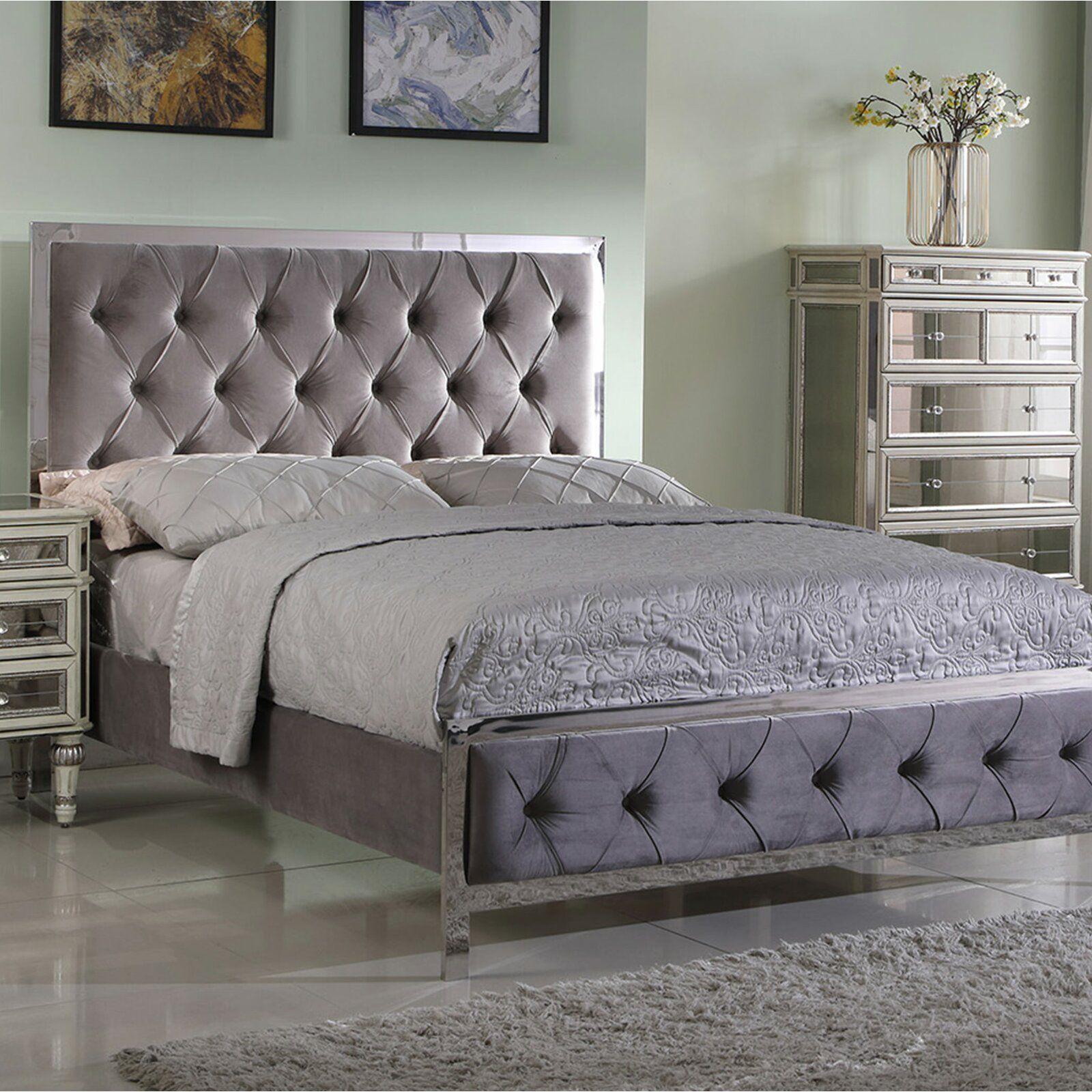 Oldbury Upholstered Standard Bed Upholstered Panel Bed