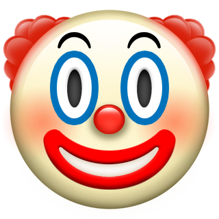 Sound The Alarms Apple S New Emoji Are Here At Last Clown Faces Emoji Clown