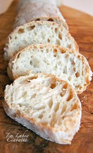 No Knead Ciabatta | Ciabatta bread recipe, No knead bread ...