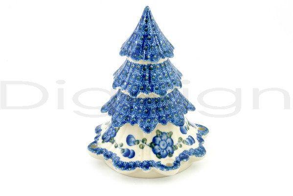Polish Pottery Boleslawiec Stoneware Christmas Tree I Love My Tree Polish Pottery Patterns Boleslawiec Pottery Polish Pottery Boleslawiec