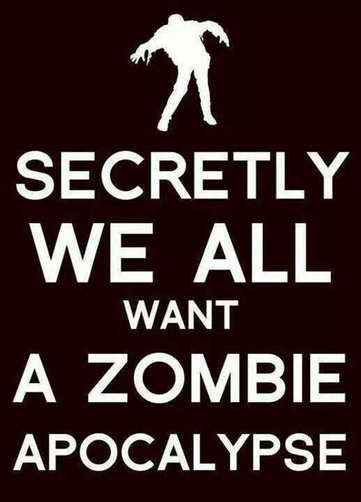 If A Zombie Apocalypse Were To Happen Then Daryl Would Happen