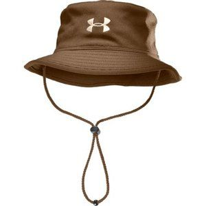 befa0bde9c1 Under Armour Men s Fishing Bucket Hat Saddle Branch OSFA