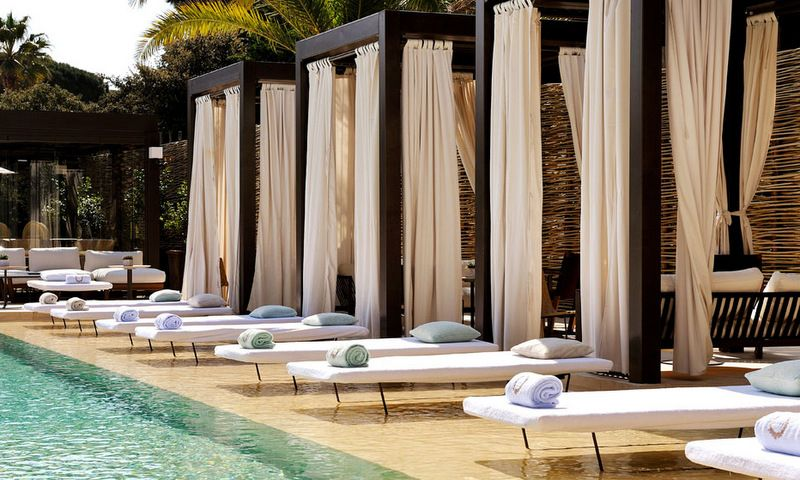Luxury hotel muse in saint tropez france garden and pool for Pool design france