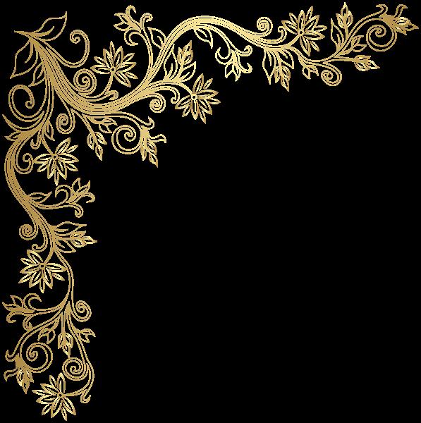 Gold Corner Transparent Image Image Overlay Transparent Free Clip Art