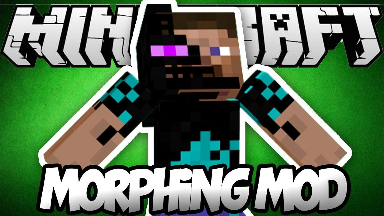 Morph Mod 1 14 4 Is A Mod That Gives The Chance To Change Into Another Player Wouldn T That Be Cool That Is Not All As Y Minecraft Mods Minecraft 1 Minecraft