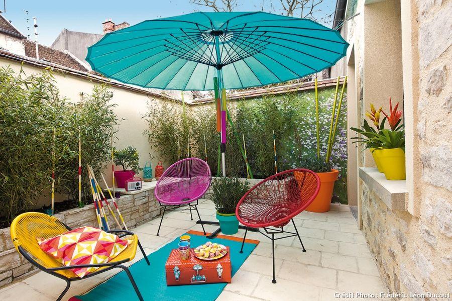 Quatre Idees Deco Pour Amenager Votre Terrasse Deco Terrasse Exterieure Decoration Terrasse Deco Terrasse