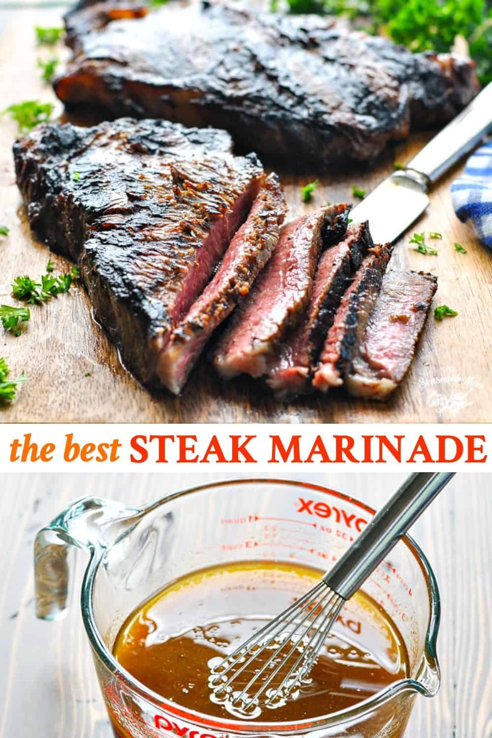 The Best Steak Marinade Recipe - The Seasoned Mom