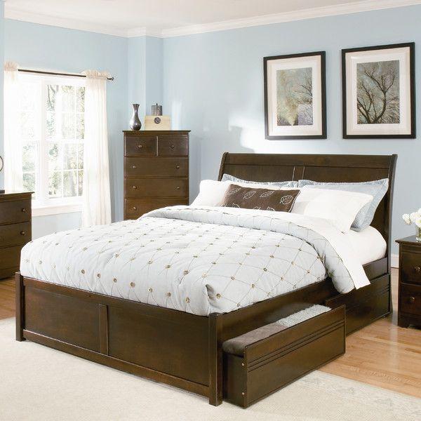 Atlantic Furniture Bordeaux Storage Platform Bed & Reviews   Wayfair