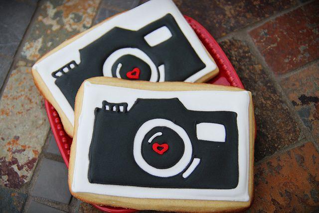 Camera Cookie Cutter Photo Photography Cupcake Fondant Gingerbread Cutter Gift