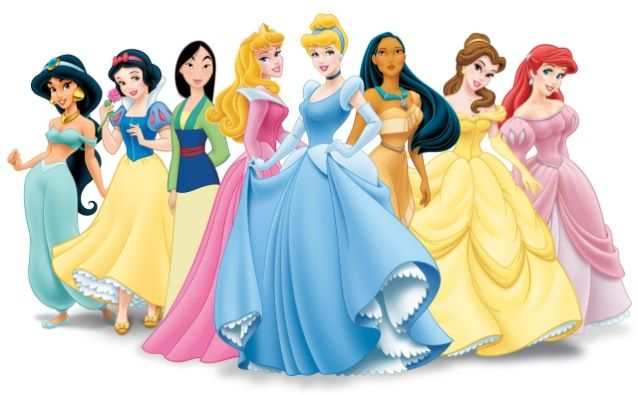 All The Princesses Together Disneevskie Princessy Disnej Platya