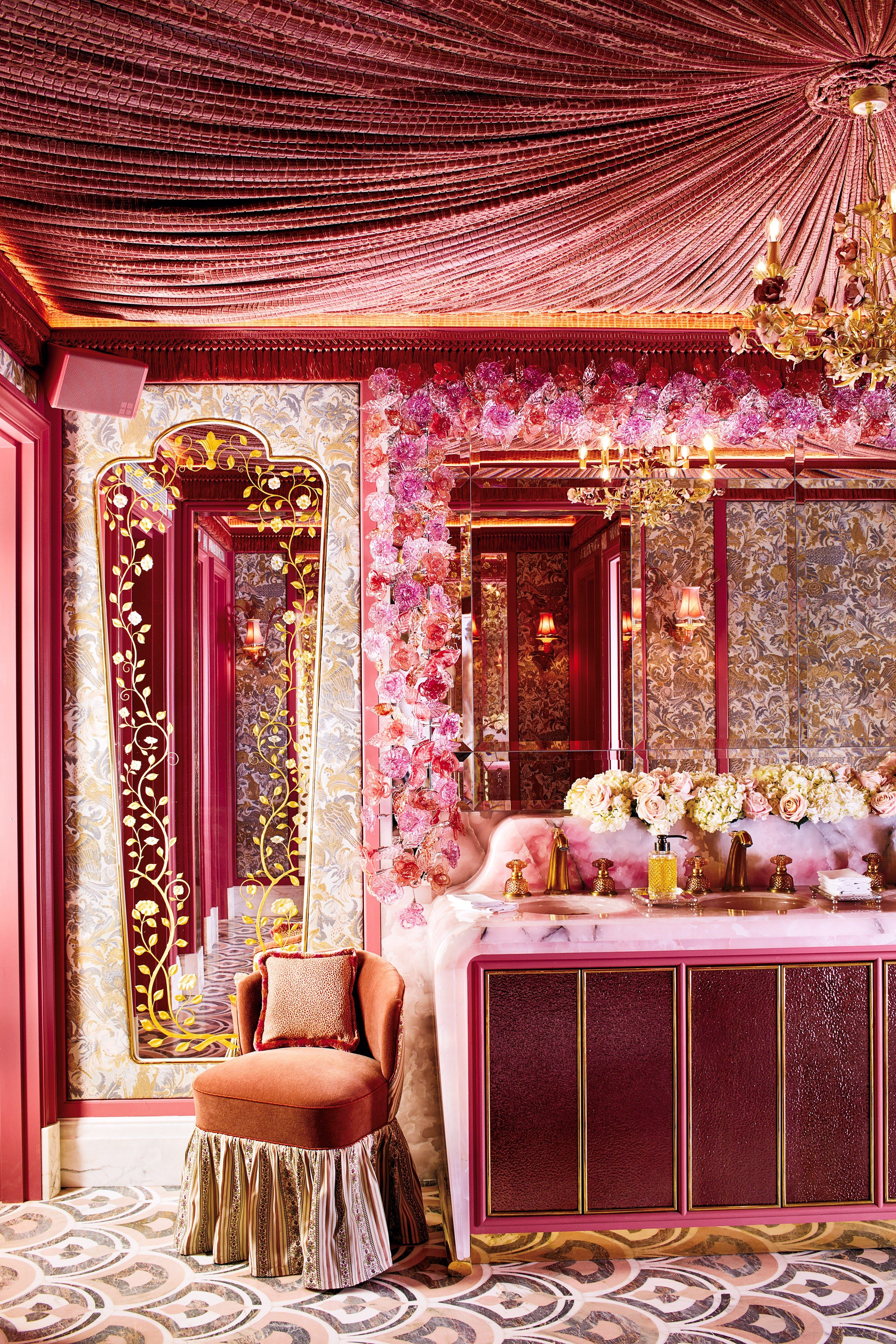 Dusty Pink Room Decor