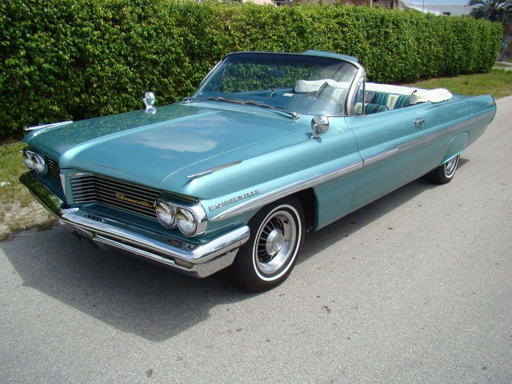 1962 pontiac bonneville convertible for sale