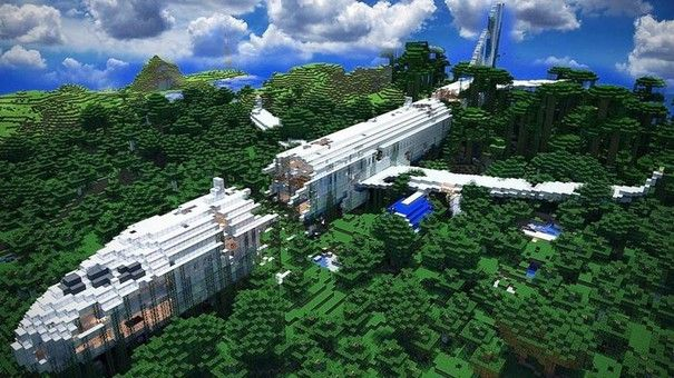 Biggest Minecraft House In The World 2014 best minecraft creations | this is top 5 minecraft creations