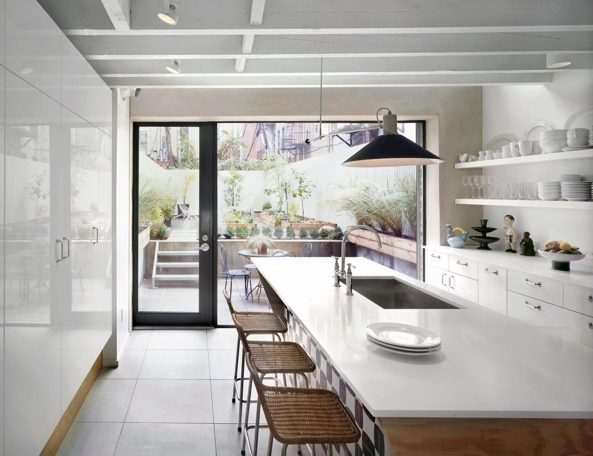 Kitchen In Row House Refurb   Brooklyn, NYC   Robinson + Grisaru
