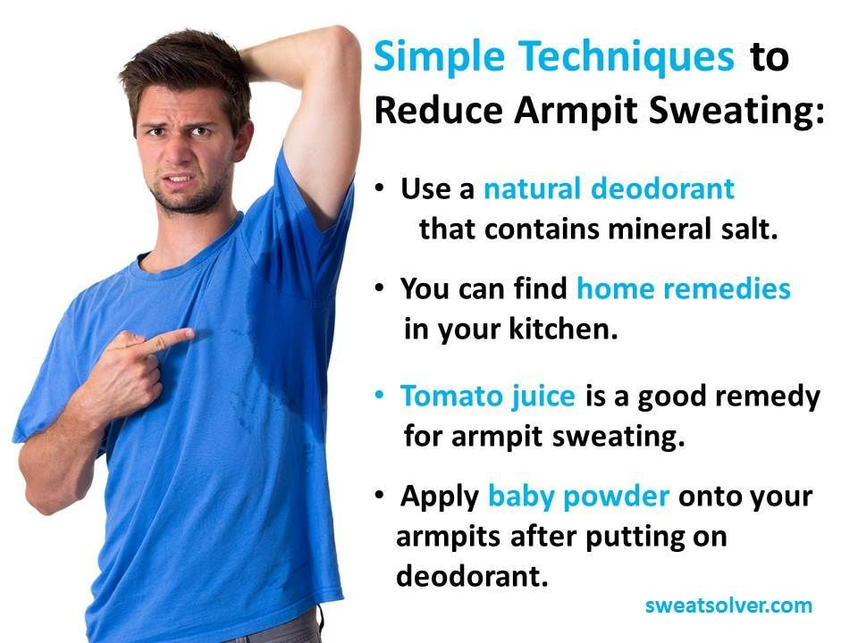what to do for excessive sweating