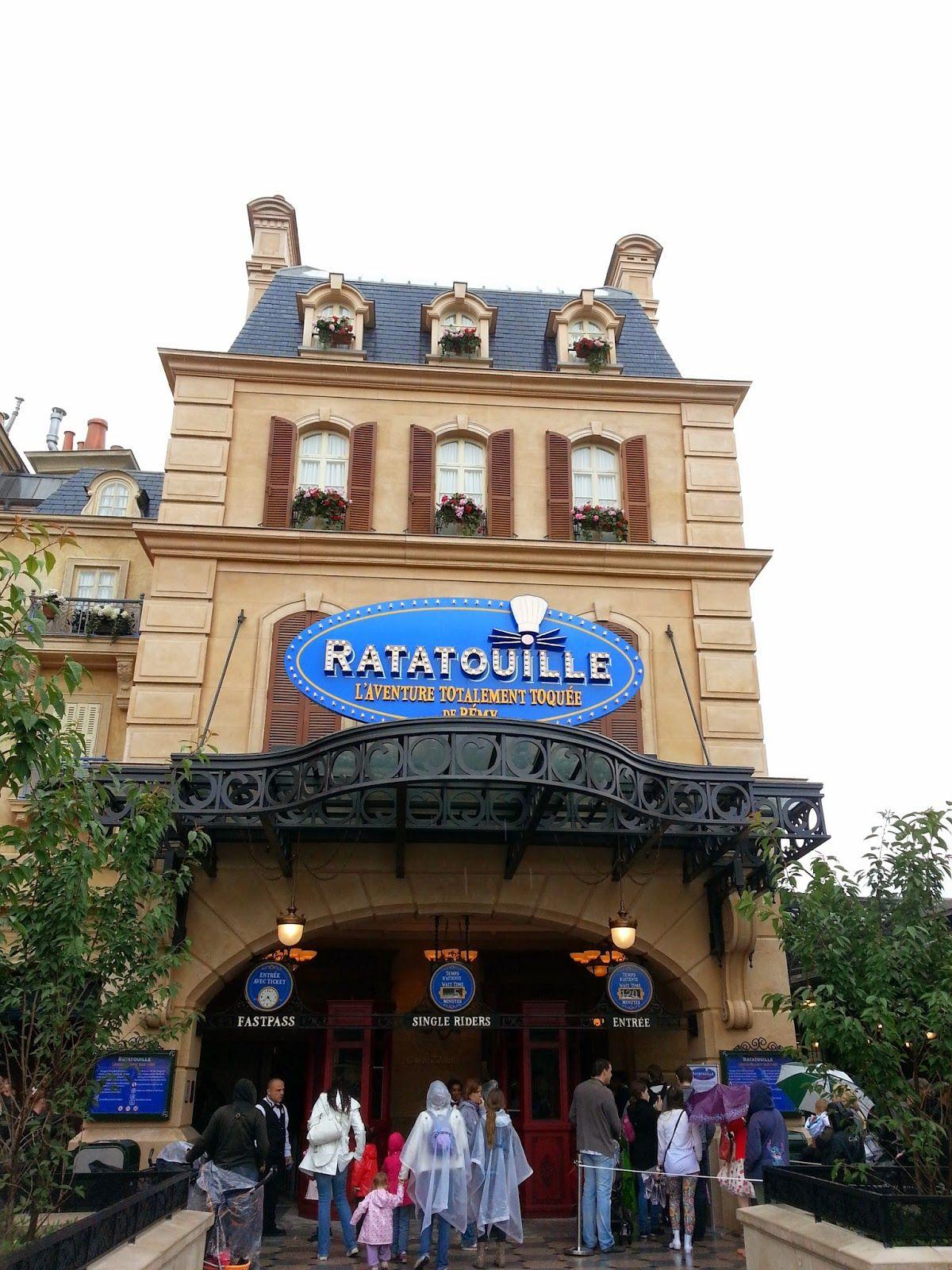 Dreampatricia Sogni D Oro Ratatouille The Ride Disneyland Paris Disneyland Parc A Theme Parc Disney