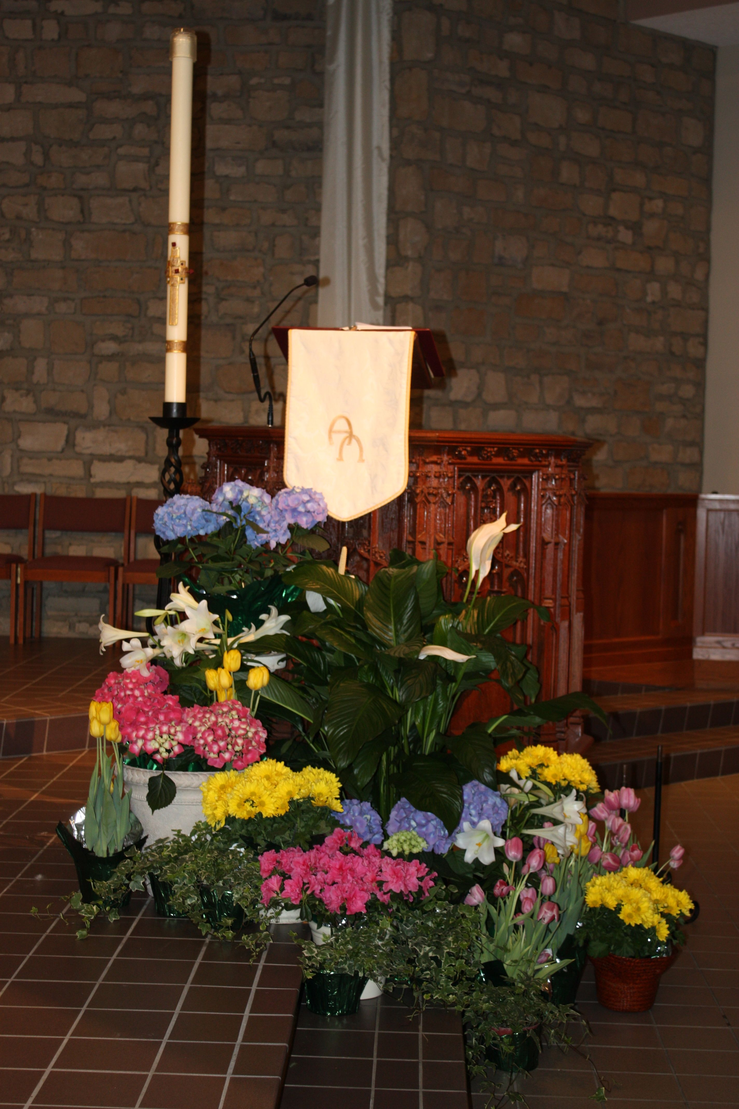 Easter Garden Decorating Ideas For Church