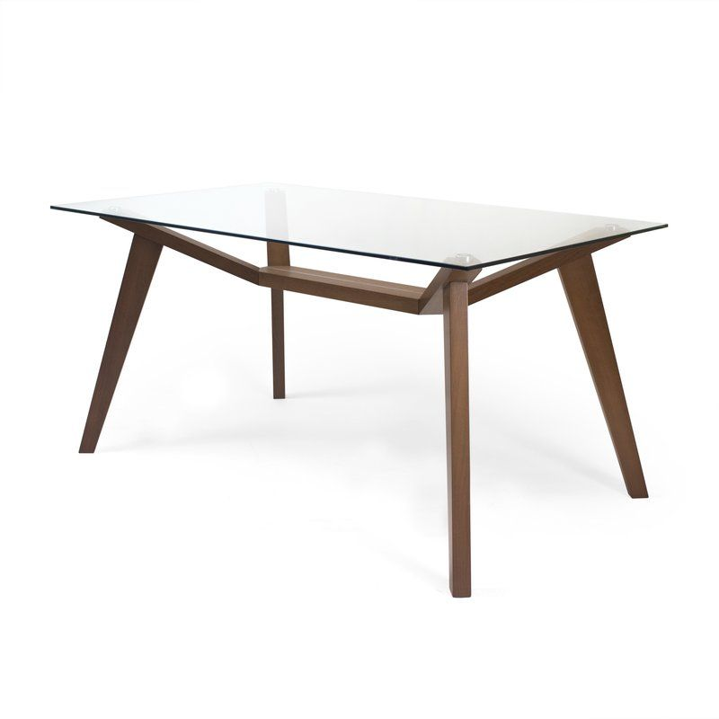 Aeon Furniture Lavinia Dining Table Reviews Wayfair Ca Solid Wood Dining Table Glass Dinning Table Glass Dining Table