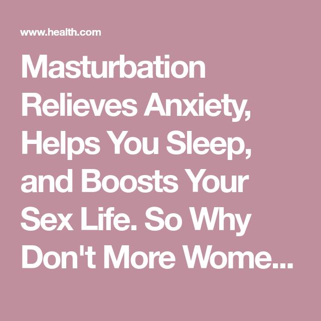 Does having sex help you sleep