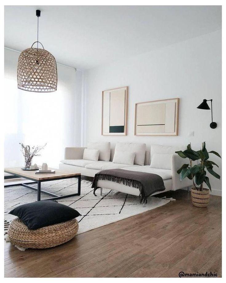 Zen home decor living room