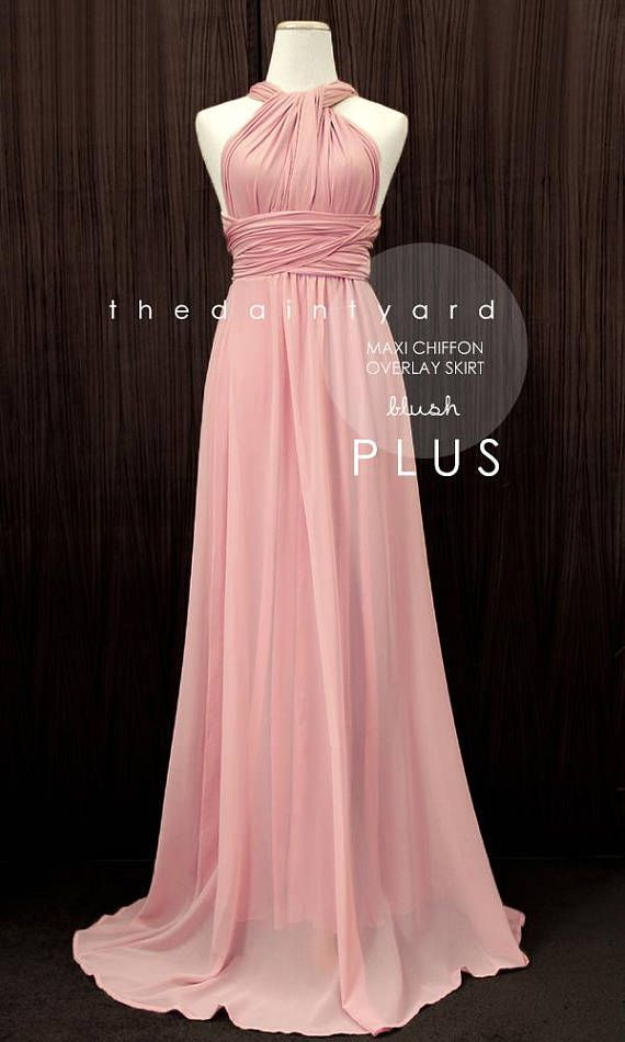966dd4ea6dcf Pair this chiffon overlay skirt with our Maxi/ Short infinity dress for a  different ...