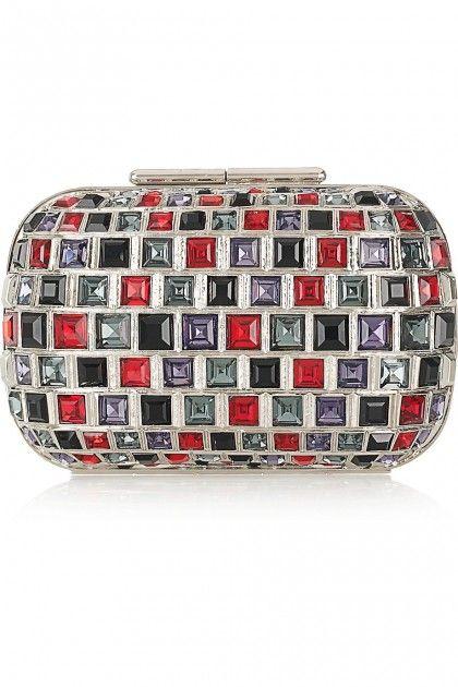 Crystal hand purse