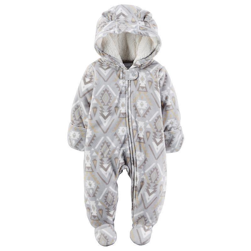 60aaca07c Baby Carter s Tribal Fleece Bunting
