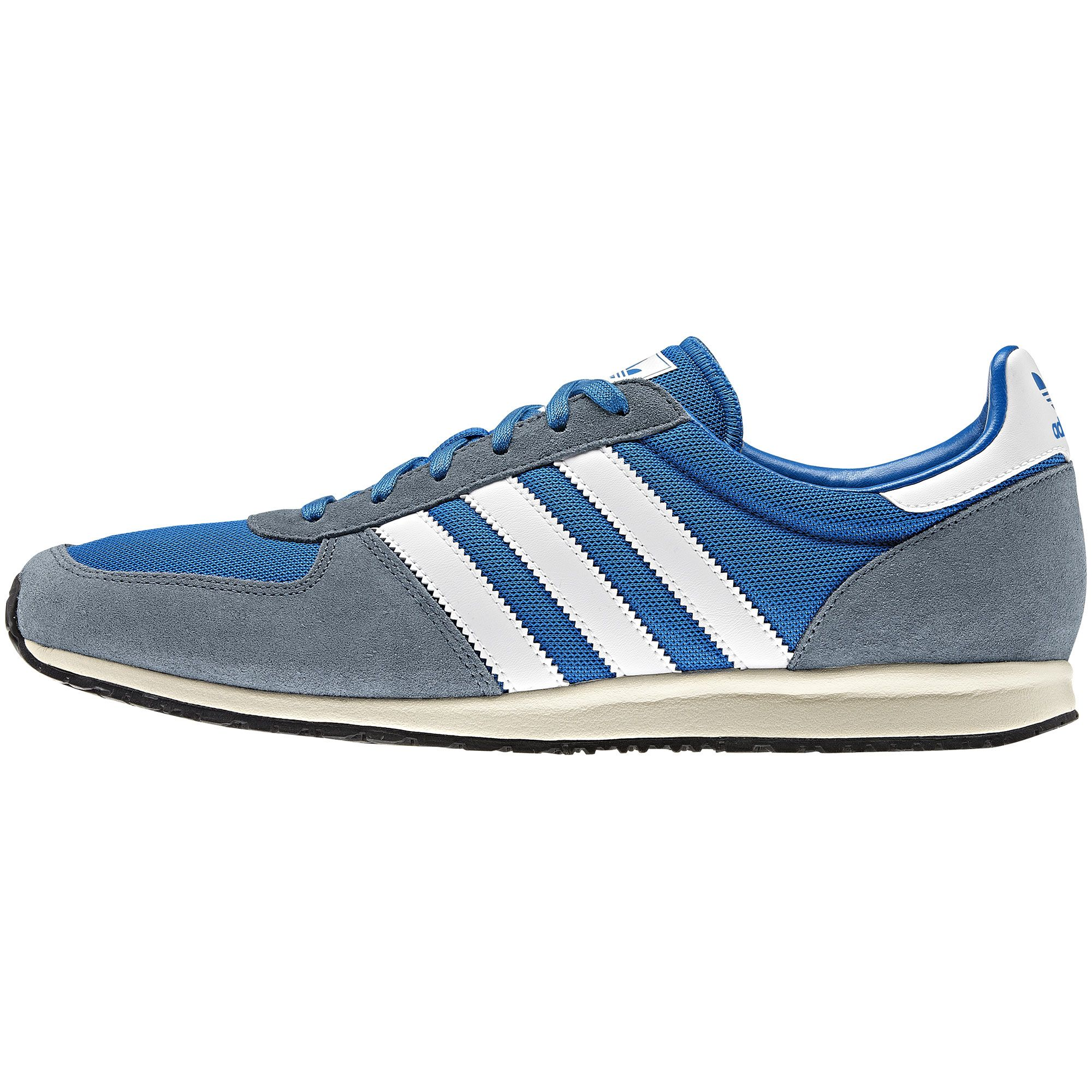 mens adidas gazelle ii white leather trainers nz