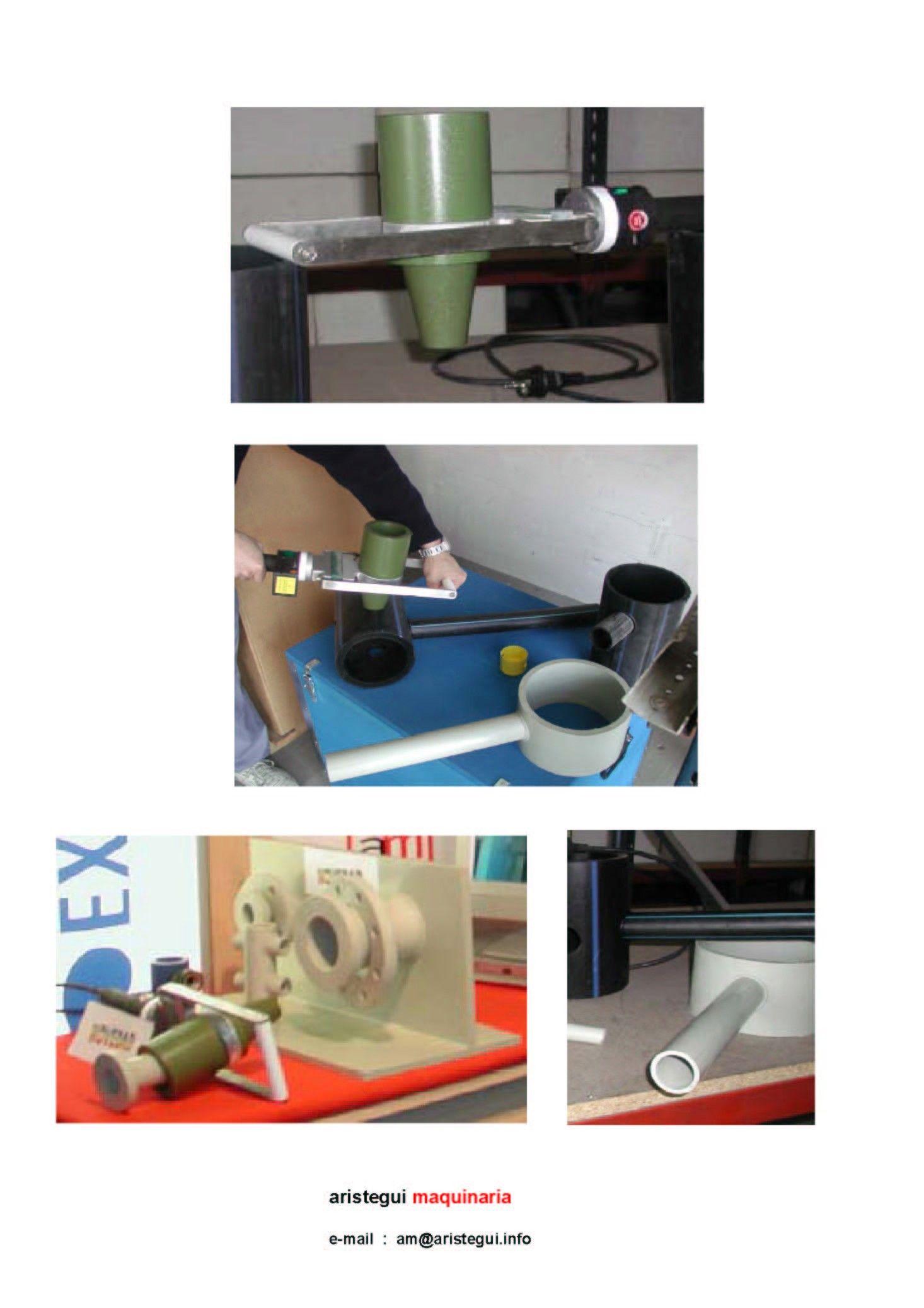 Máquina Manual Para Hacer Injertos Meg 1 Soldadura De Tubería Soldar Tubo Injerto En Tubo Tuberias Hacer Accesorios Soldadura