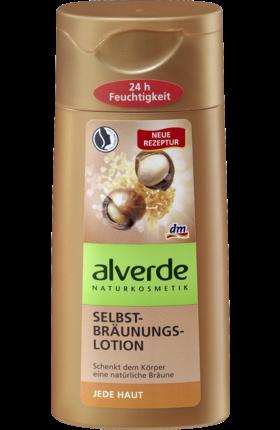 Die alverde SUN Selbstbräunungslotion ist für jede Haut geeignet. Die Rezeptur mit einer natürlichen Selbstbräunungs-Wirkstoffkombination verleiht der Haut...