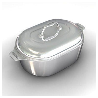 Gourmet 165 Heavy Cast Aluminum Covered Oval Roaster with NonStick Interior >>> Check out this great product.