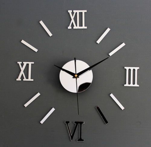 Modern-3D-DIY-Clock-Acrylic-Foam-Decoration-Mirror-Stickers-Art-Wall-Clock-New