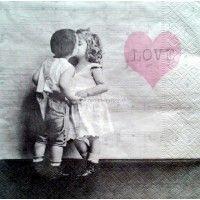 Servítka - Vintage párik