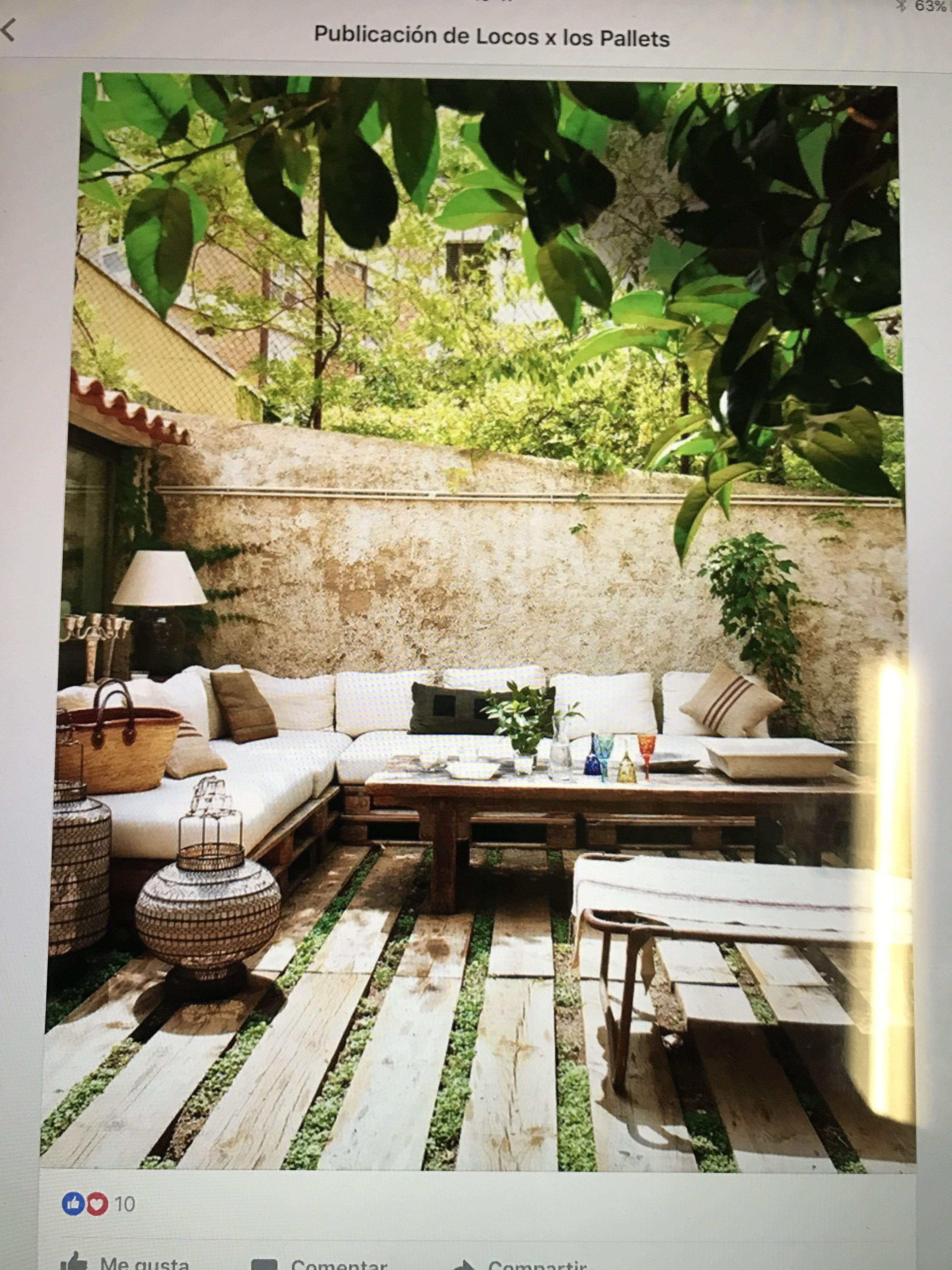 Pin by Ana Ivanovska on terrace | Mobilier jardin, Jardins, Salon de ...