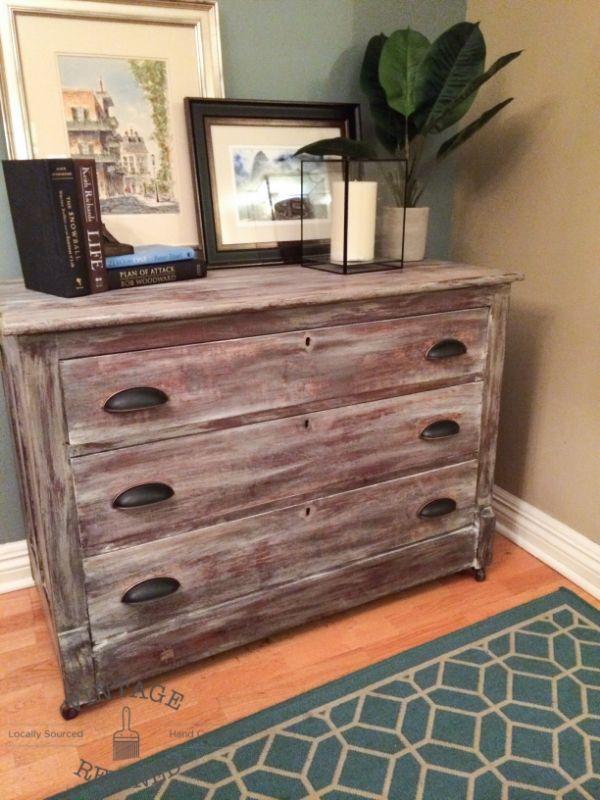 Restoration Hardware Inspired Dresser For The Home