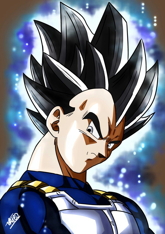 Vegeta Ultra Instinct Omen Anime Dragon Ball Anime Dragon Ball Super