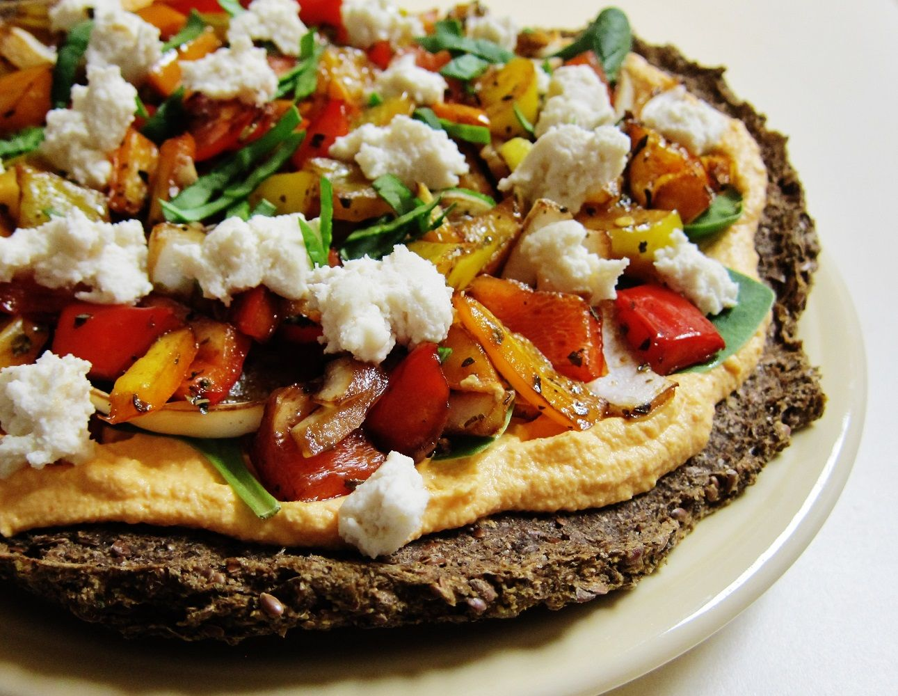 Raw on 10 a day or less raw roasted pepper pizza recipe and easy affordable raw food recipes raw meal plans menus vegan recipes and lifestyle tips forumfinder Images