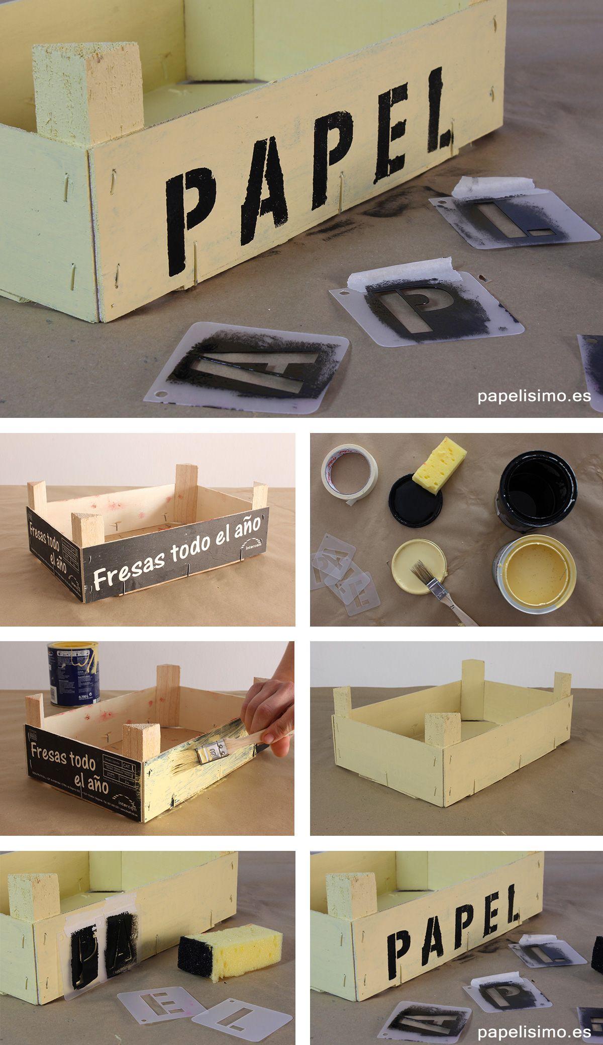 Como decorar cajas de fresas papelisimo pinterest - Cajas de fresas decoradas paso a paso ...