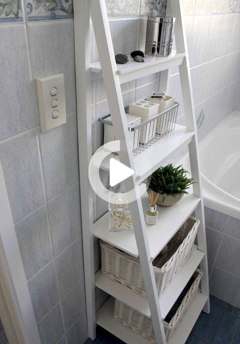 Photo of 38 Creative Bathroom Shelves Organization Ideas On A Budget