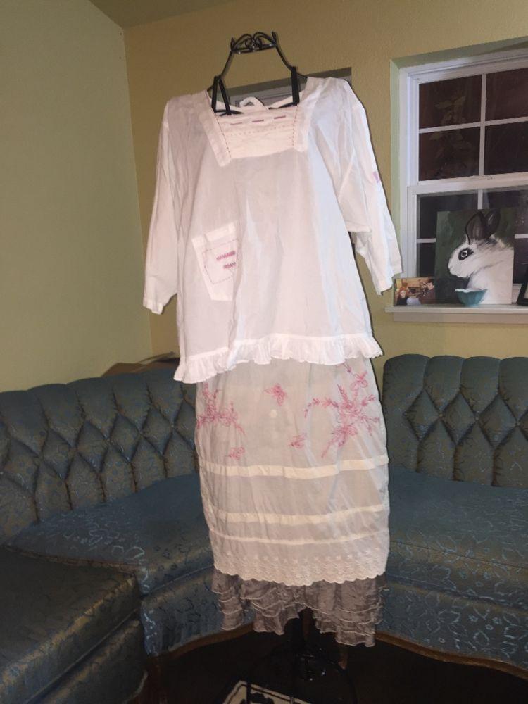 Magnolia Pearl topper blouse