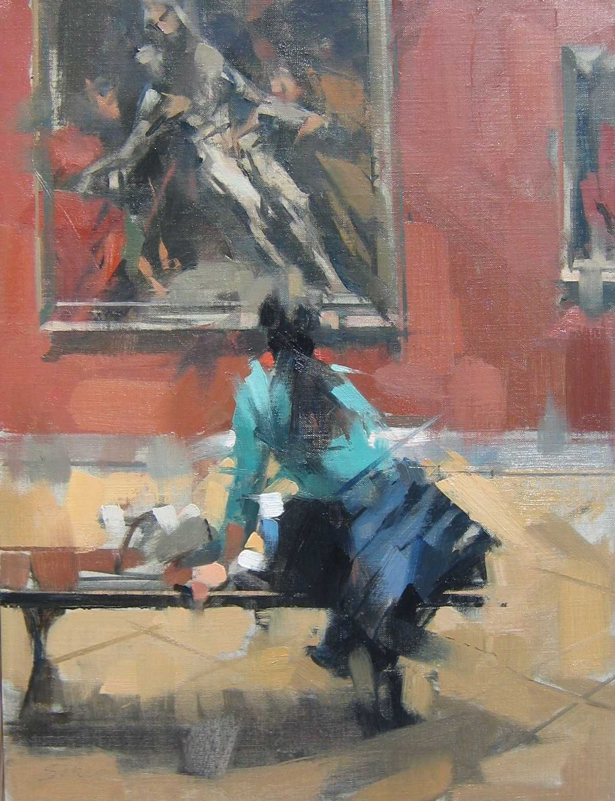 Maggie siner absolutely love her style would love to take her workshop one day figurative artart
