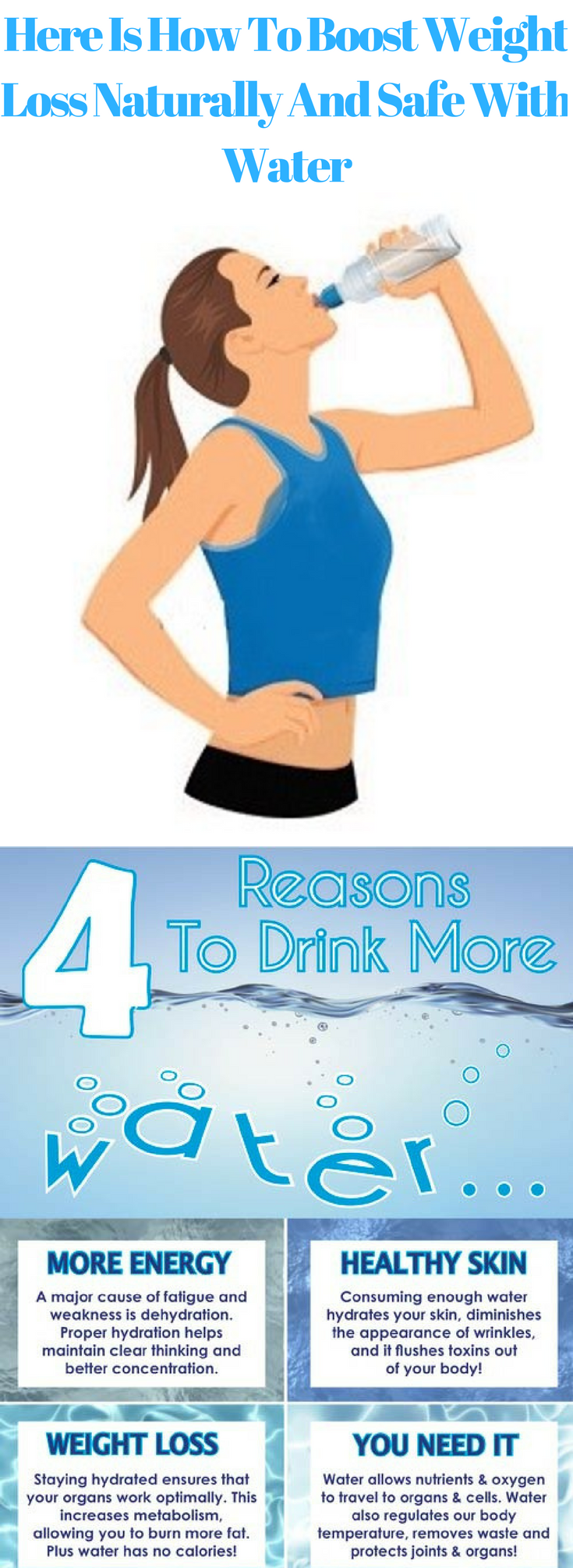 Here Is How To Boost Weight Loss Naturally And Safe With Water #vitamins
