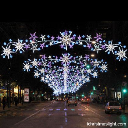 Christmas Street Light Decoration Supplies Motif Street Lights