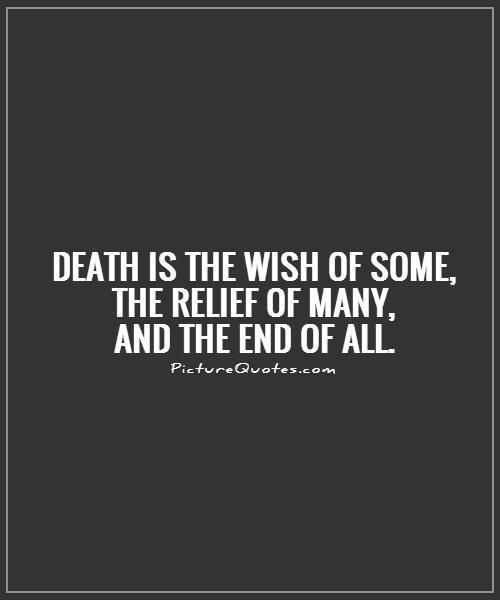 Quotes About Death Death Quotes  Death Sayings  Death Picture Quotes  Death .