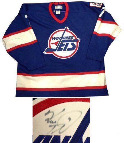 best service 02041 75591 Keith Tkachuk Signed JSA Vintage Winnipeg Jets Jersey ...
