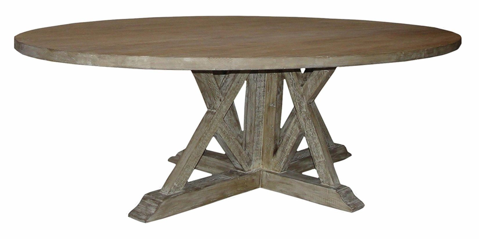 CFC House Ideas Pinterest House - Reclaimed wood oval dining table