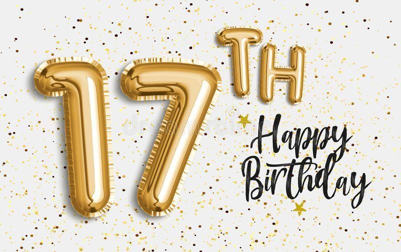 Happy 17th Birthday Images