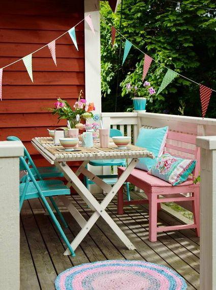 10 ideas para balcones pequeños Balconies, Patios and Tiny balcony