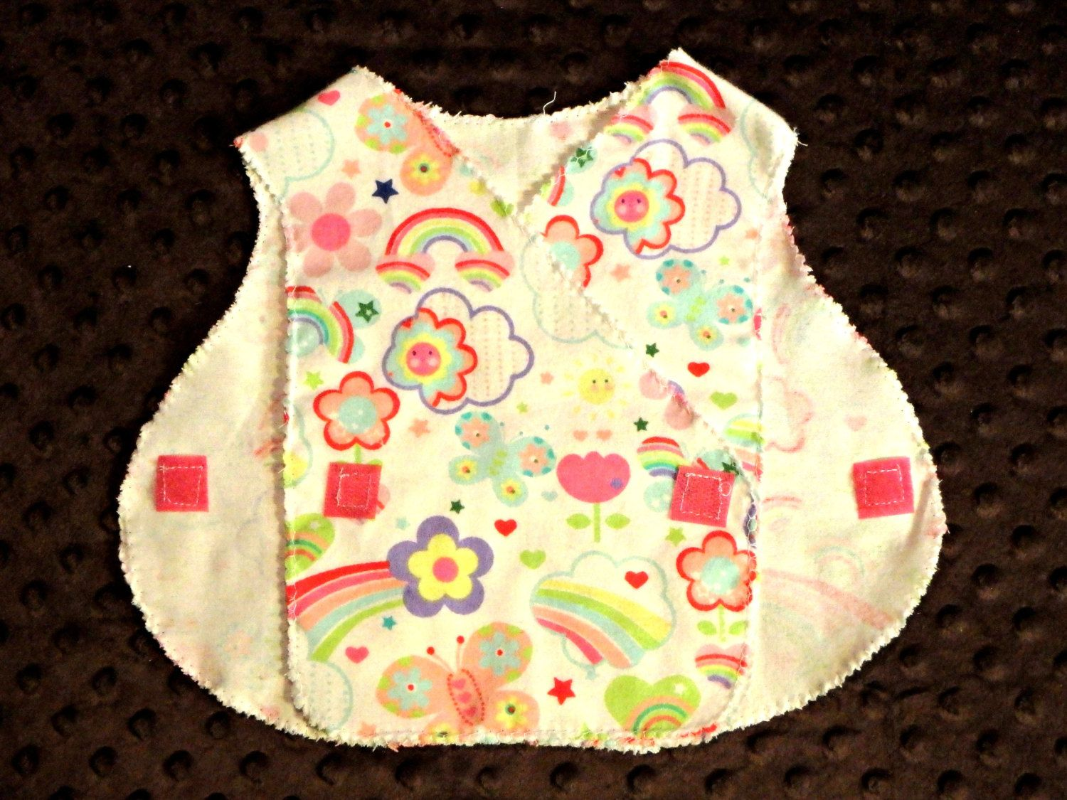 MICRO Preemie Hospital Gown Flannel NICU Approved Gown 35